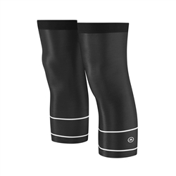 Image: CHAPEAU! KNEE WARMERS BAND BLACK / WHITE ONE SIZE