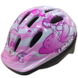 Image: LIMAR 123 HELMET TODDLER MERMAID (45-52CM)