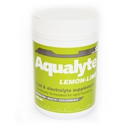 Image: AQUALYTE AQUALYTE 480G TUB LEMON/LIME