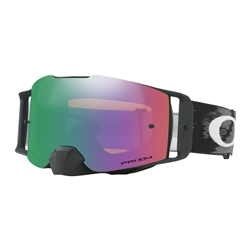 Image: OAKLEY FRONTLINE MX GOGGLE MATTE BLACK - PRIZM MX JADE IRDIUM WITH TEAROFFS