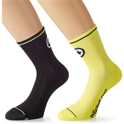 Image: ASSOS MILLE SOCK EVO 7 TWIN PACK