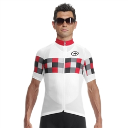 Image: ASSOS SS GRAND PRIX JERSEY EVO 8 MENS NATIONAL RED MEDIUM