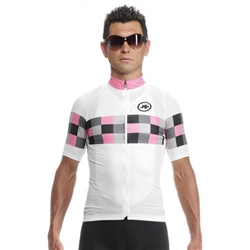 Image: ASSOS SS GRAND PRIX JERSEY EVO 8 MENS PINK PANTER MEDIUM