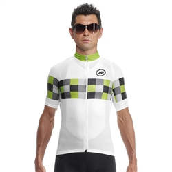 Image: ASSOS SS GRAND PRIX JERSEY EVO 8 MENS PITON GREEN SMALL