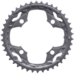 Image: SHIMANO FC-M590 CHAINRING AE GREY
