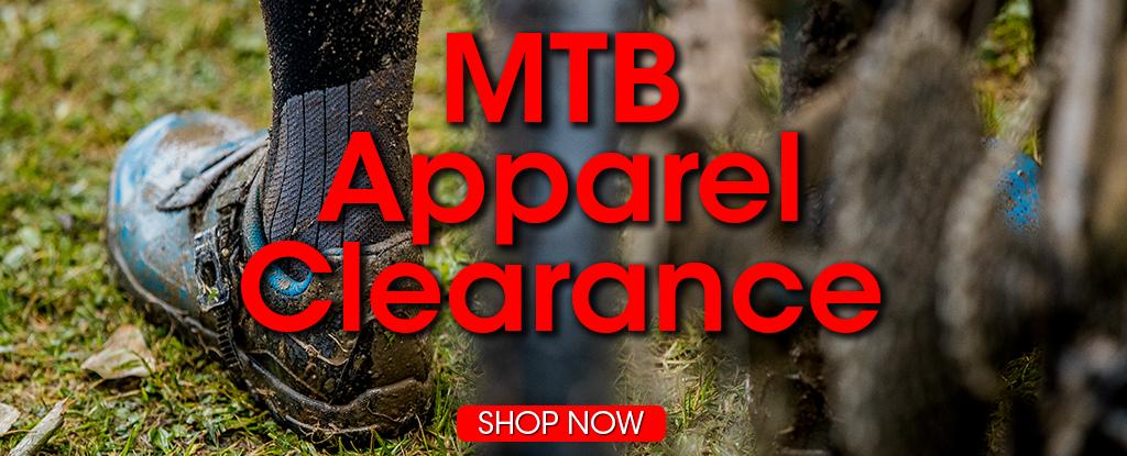 MTB Apparel Clearance